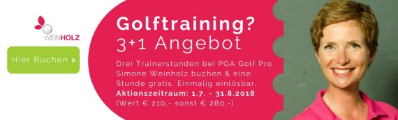 Gutschein Golftraining Juli – August 2018